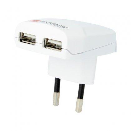 Skross Euro USB Charger 2400 mA Dual USB Ladegerät Elektro Expert